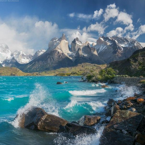 Национальный парк Торрес-дель-Пайне, Чили. Автор фото: Даниил Коржонов.