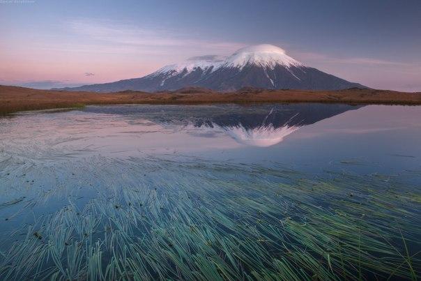 Вулкан Толбачик, Камчатка. Автор фото: Даниил Коржонов.