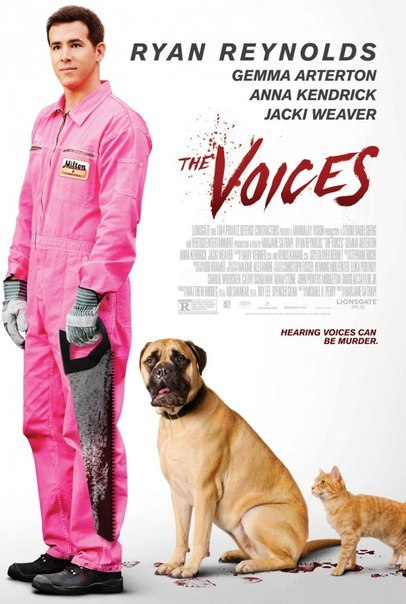Фильм Голоса / The voices (2015)