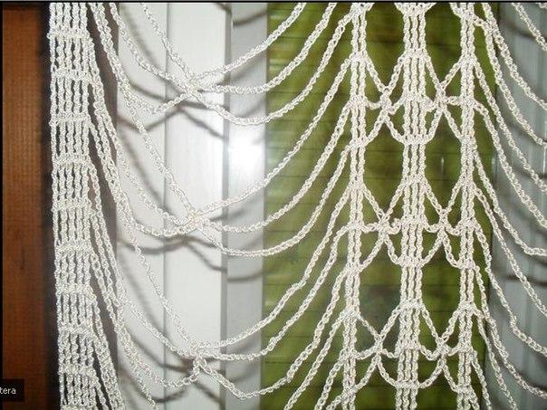 шторы или занавески. Схема