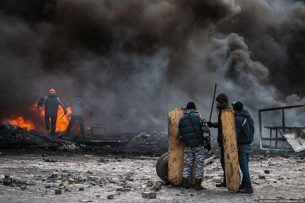 Мирна не мирна революція в Україні