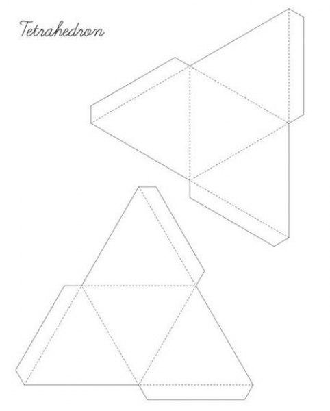 Геометрических фигуры своими руками