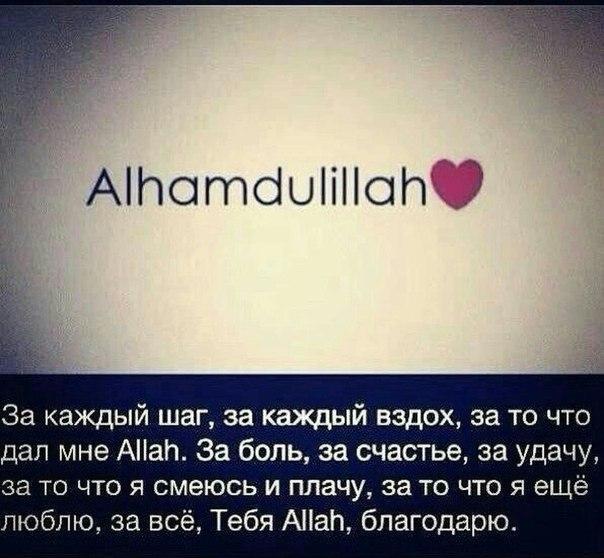 АльхамдулиЛях♥