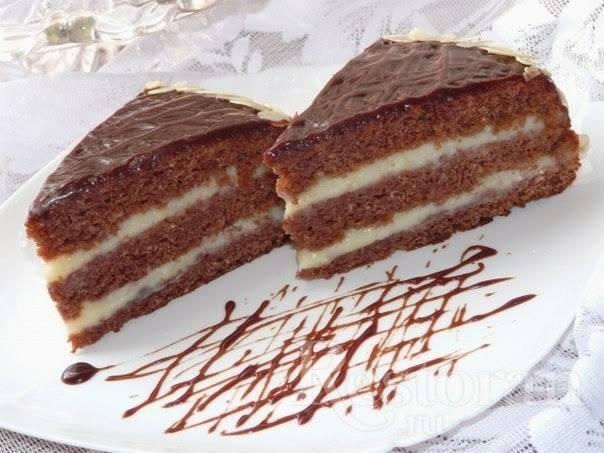 """Еще один сумасшедший торт-пирог """"crazy cake"""
