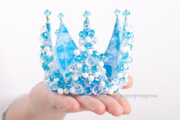 Как из бутылки сделать корону