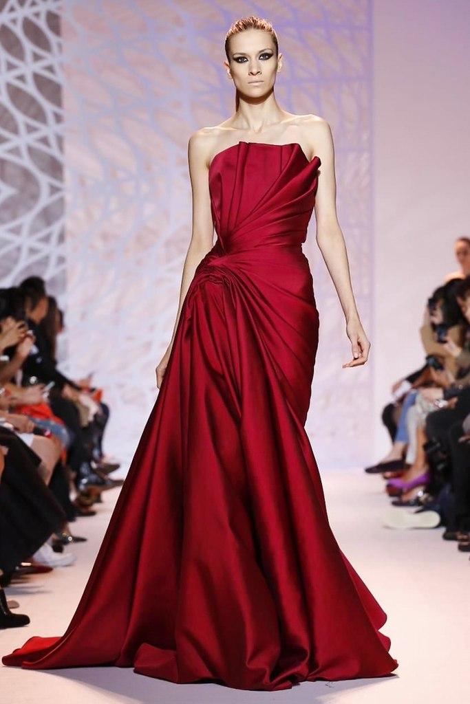Вечерние платья высокая мода
