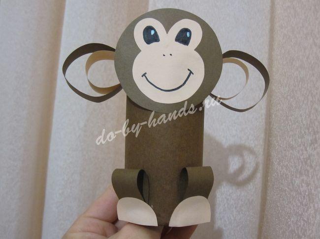 Поделки обезьянок к новому году 2016 своими руками