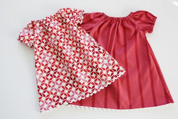 Шьем летнее платье для девочки (8 фото) - картинка