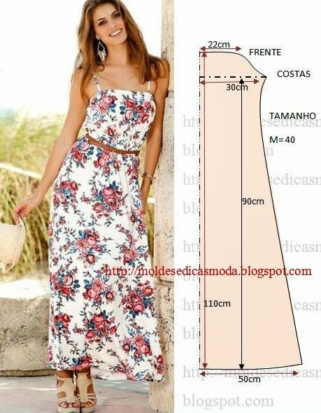 Сшить платье для лета