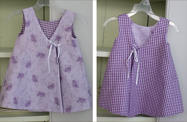 Шьем двухсторонний сарафан для малышки… (10 фото) - картинка