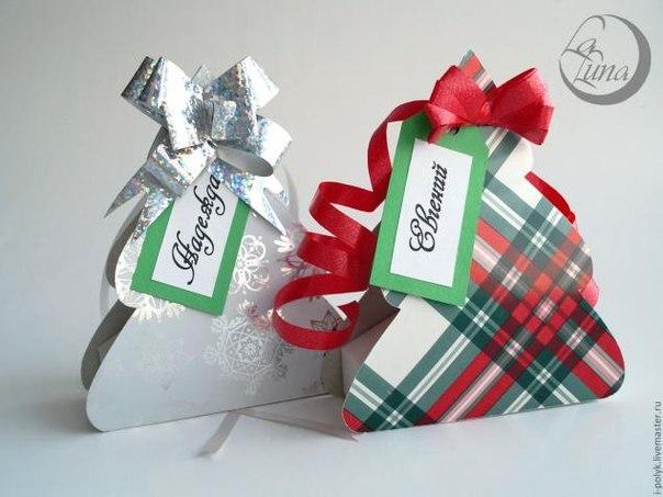 Как сделать на новый год подарочную коробку