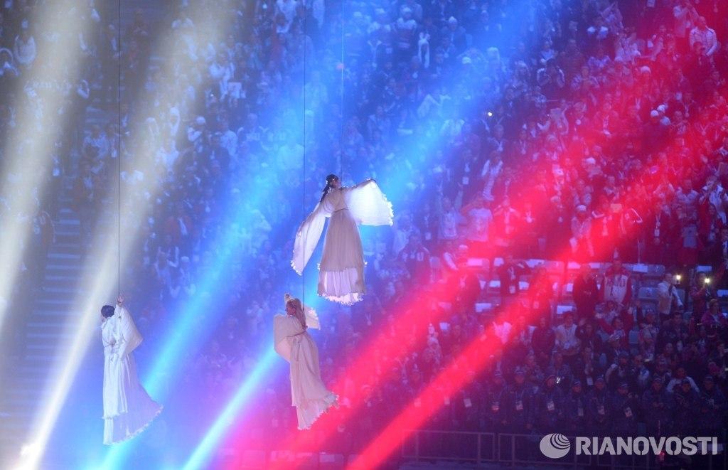 Церемония закрытия Олимпийских игр в Сочи