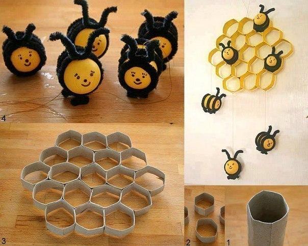 Необычный декор для детской комнаты (1 фото) - картинка