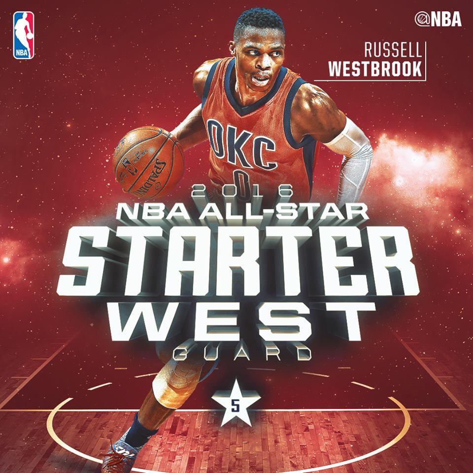 Рассел на матче Всех Звезд НБА 2016