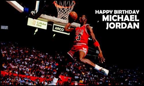 С Днем Рождения Майкл Джордан