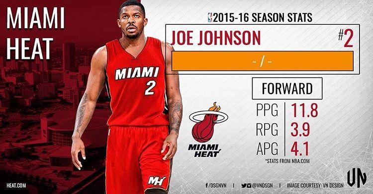 Джо Джонсон 2016 в Майами Хит
