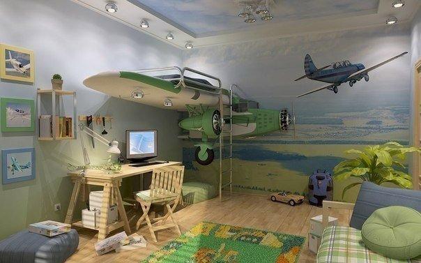 Комната для мальчика (1 фото) - картинка