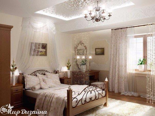 Очаровательная спальня (1 фото) - картинка