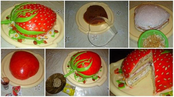 Рецепты фруктовых тортов с пошагово в домашних условиях