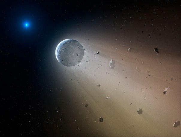 Звезда смерти» позволила увидеть будущее Солнечной системы