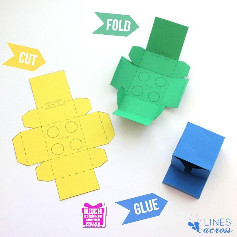 Как сделать лего из бумаги своими руками