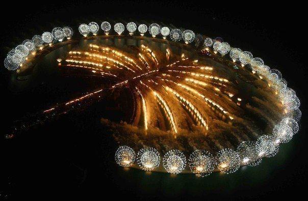 Искусственный остров Пальма в Дубае,