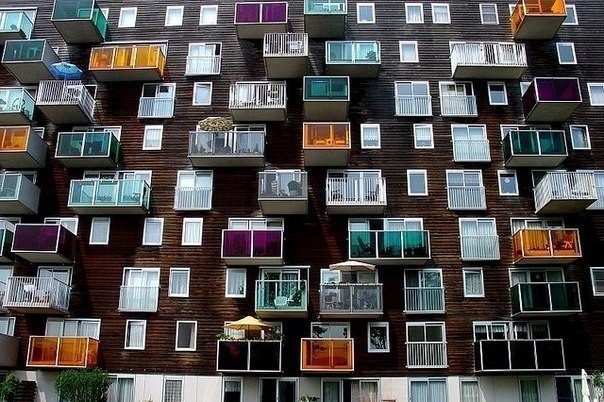 Оригинальные балконы, Нидерланды