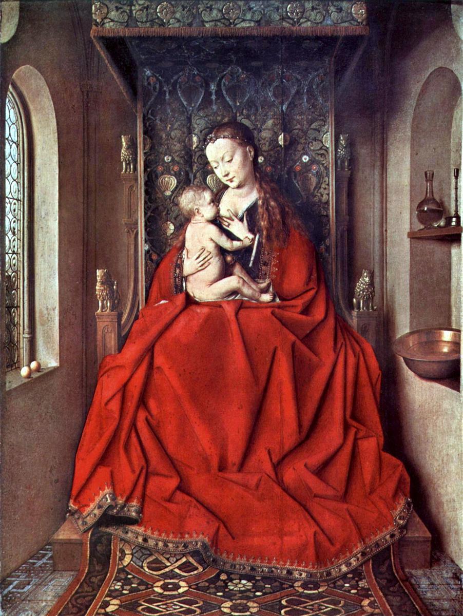 Ян Ван Эйк (1390-1441) картины Мадонн Q1CgwEiKdzw