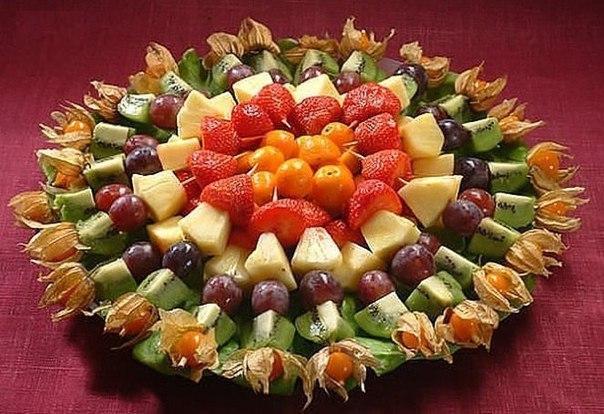 Как красиво подать фрукты на детский праздник фото организация детских праздников Спасопесковская площадь