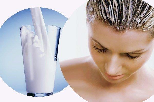 Маска для волос из яйца и молока