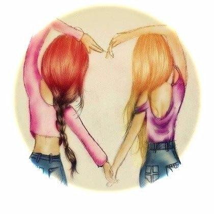 Сёстры не соревнуются между собой и не завидуют, а помогают и искренне радуются...