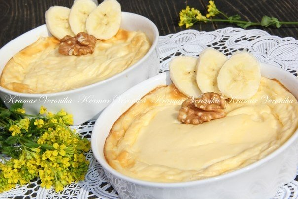 Что можно приготовить из бананов и яиц