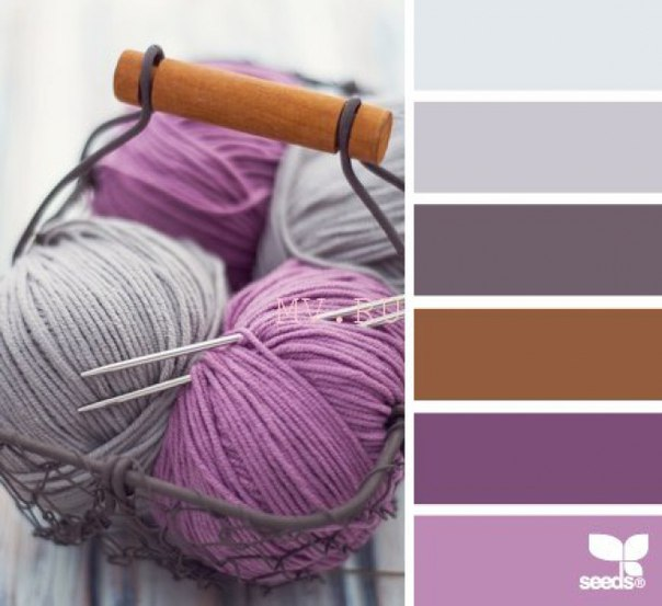 Как правильно сочетать цвета в вязании Ярмарка Мастеров