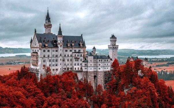 Эти замки заставят поверить в принцесс и драконов!