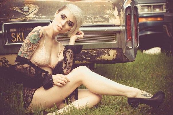 Cadillac. #CarsGirls