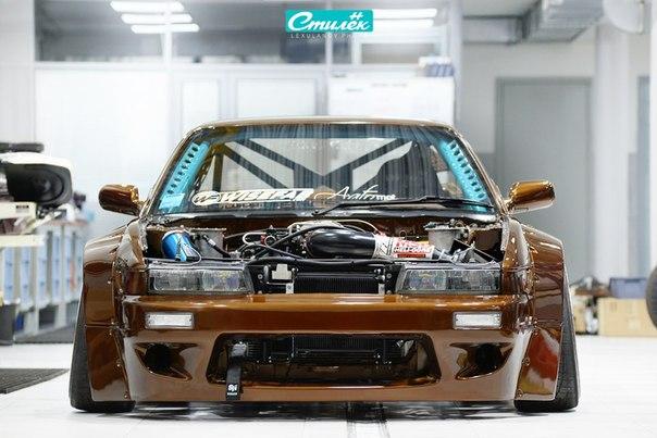 Nissan Silvia (s13). #CarsGirls