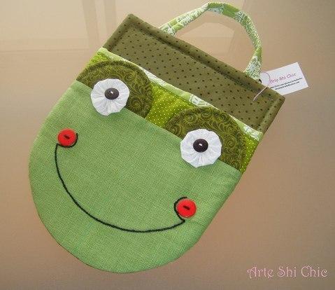 Шьем забавные детские сумочки : Идеи и выкройки… (10 фото) - картинка