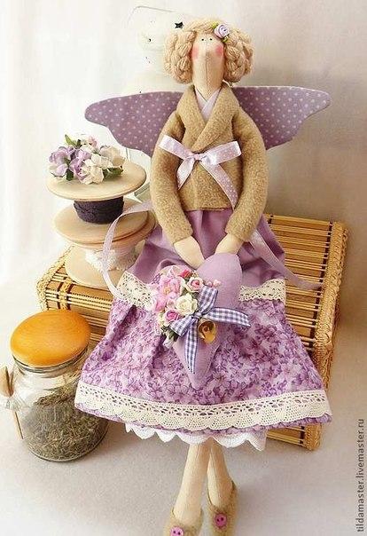 Шьем кукол в стиле тильда. Выкройки. (9 фото) - картинка