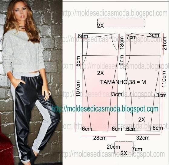 Моделируем брюки (6 фото)