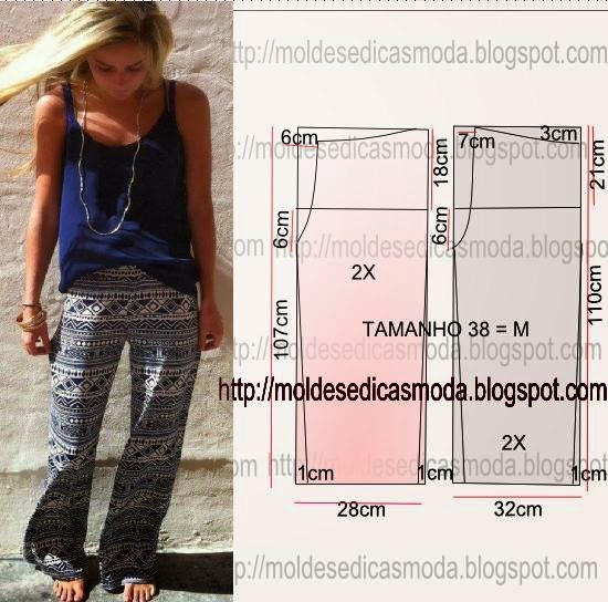 Моделируем брюки (5 фото) - картинка