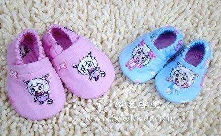 Шьем пинетки-тапочки для малышей. Мастер-класс…. (9 фото) - картинка
