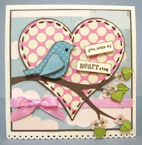 Весенние открытки с птичками. Идеи для вдохновения…. (10 фото) - картинка