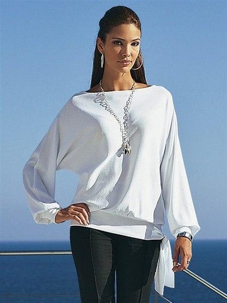 Шьем блузку с цельнокроеными рукавами (2 фото) - картинка