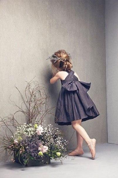 Платье для девочек. Выкройка (6 фото) - картинка