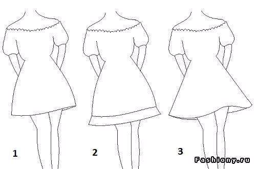 Шьем платье крестьянка . Мастер-класс.