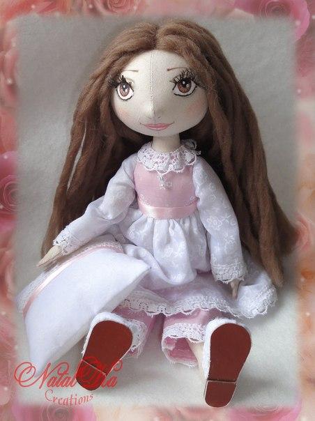 Шьем куклу. Выкройка. (6 фото) - картинка