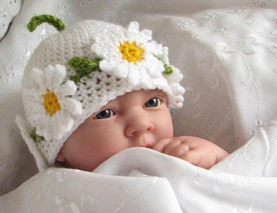 (9 фото) Детские шапочки для