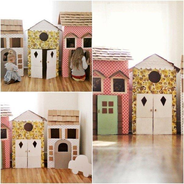 Поделки для детей из картонных коробок :… (5 фото) - картинка