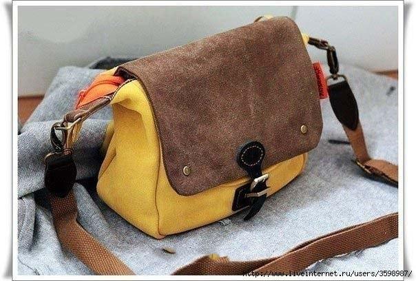 Шьем сумочку. Выкройка. (6 фото) - картинка