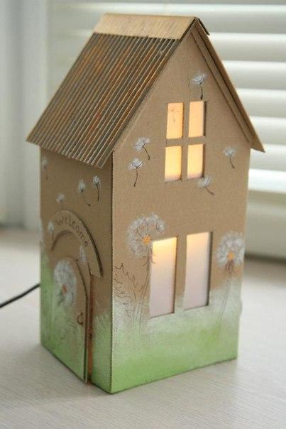 Поделки для детей из картонных коробок :… (10 фото) - картинка